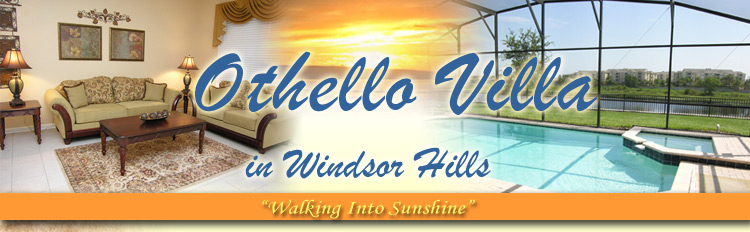 Othello Villa, 6 bed room villa in Windsor Hills Kissimmee Orlando Florida